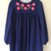BellBird Dress embroidery sewing pattern by Below the Kowhai