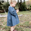 BellBird Dress sewing pattern by Below the Kowhai