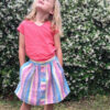 Childrens Manuka skirt sewing pattern by Below the Kōwhai