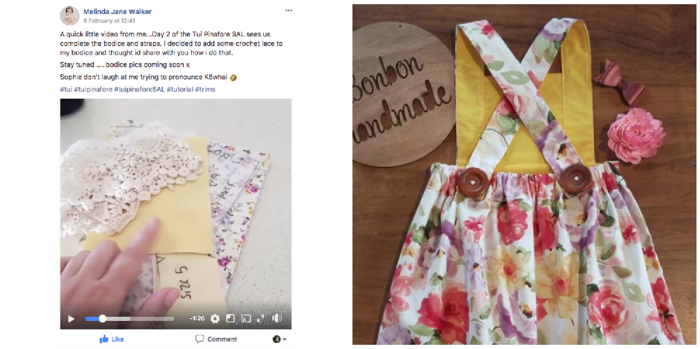 Tui Pinafore Sew Along Giveaway Winners
