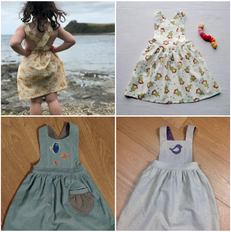 Tui Pinafore Sew Along 1