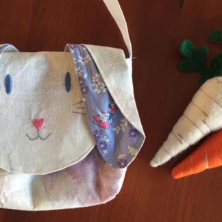 Below the Kowhai Pet Bag sew along