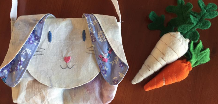 Below the Kowhai Pet Bag sew along
