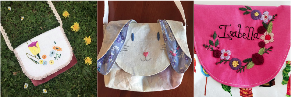 Below the Kowhai Pet Friends Bag sew along