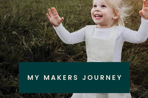 Below the Kōwhai Sewing Patterns About My Makers Journey