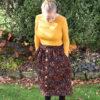 Women's Mānuka skirt sewing pattern by Below the Kōwhai