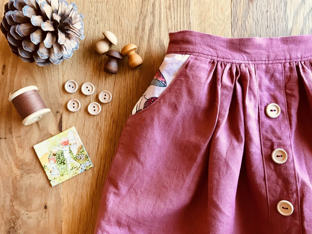 Autumn Inspiration Mānuka Skirt