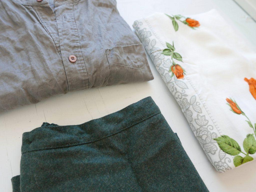 up cycle fabrics at home