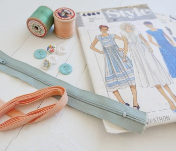 Sewing pattern and notions