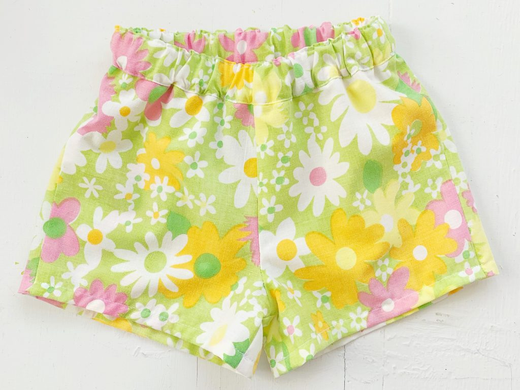 Floral Pai Shorts sewing pattern
