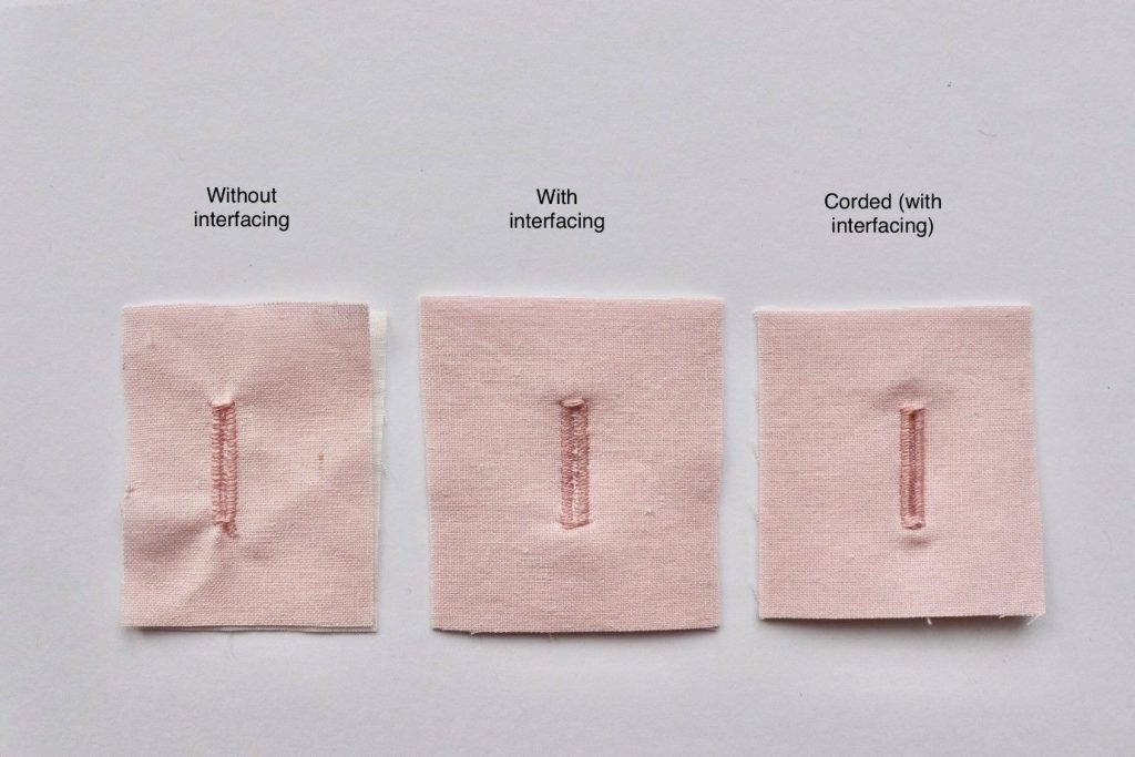 different buttonhole examples