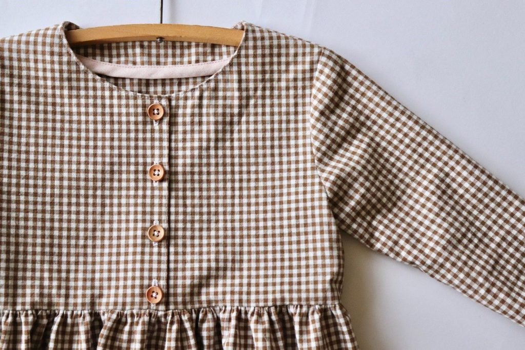 Kauri Dress sewing pattern by Below the Kowhai