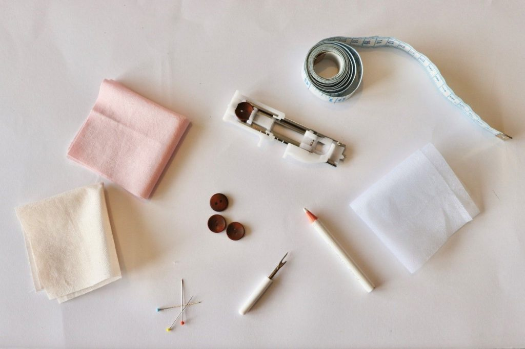 Things needed to sew buttonholes