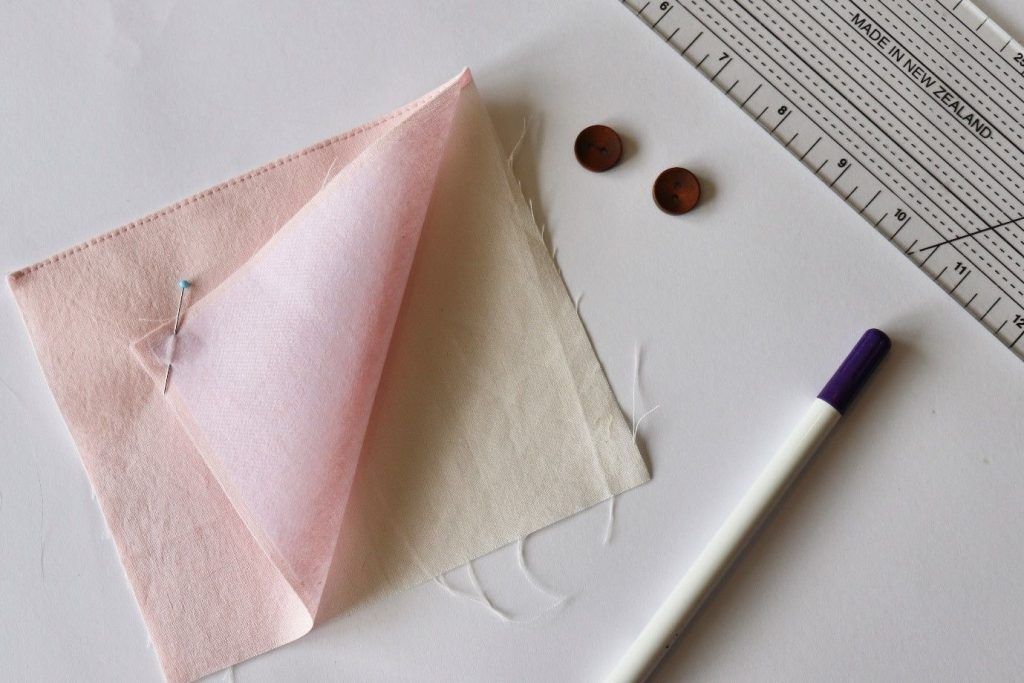 How to apply interfacing