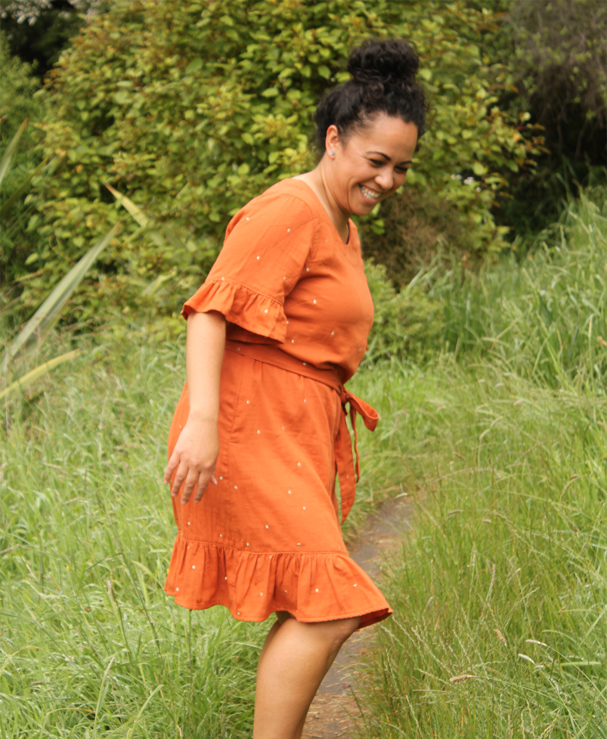 Pohutukawa Dress sewing pattern by Below the Kowhai
