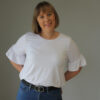 Rata Top sewing pattern by Below the Kowhai