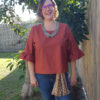 Rata Top sewing pattern by Below the Kōwhai