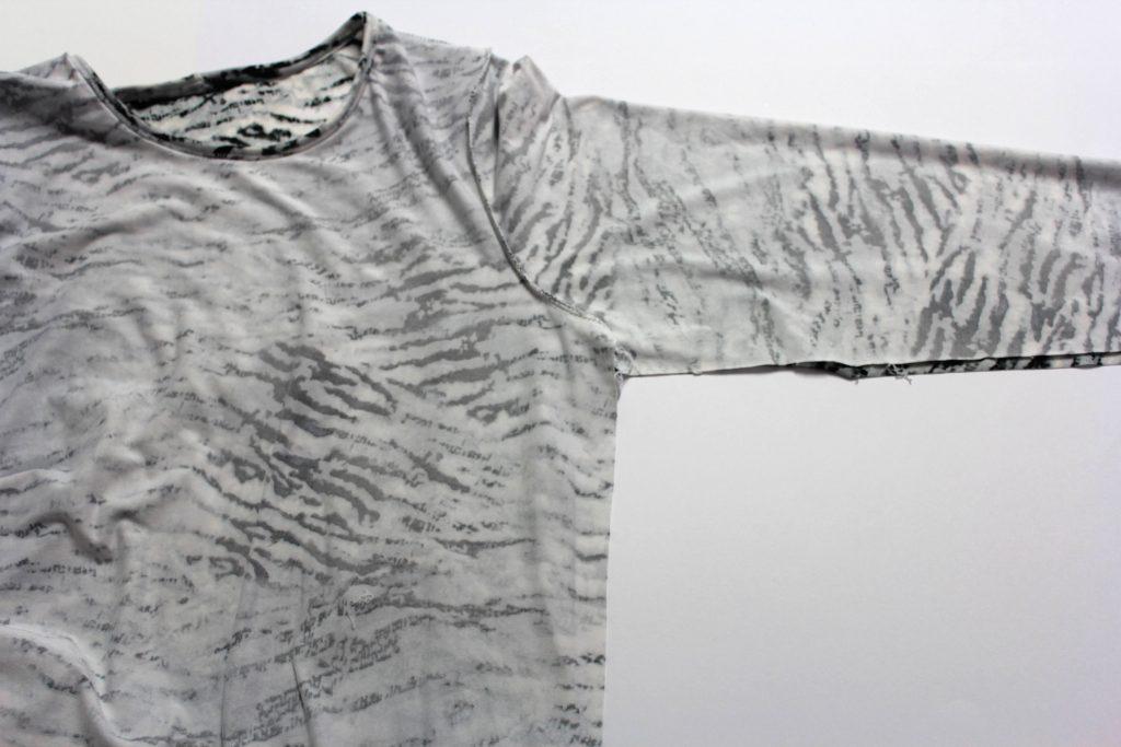 Sew up side seams