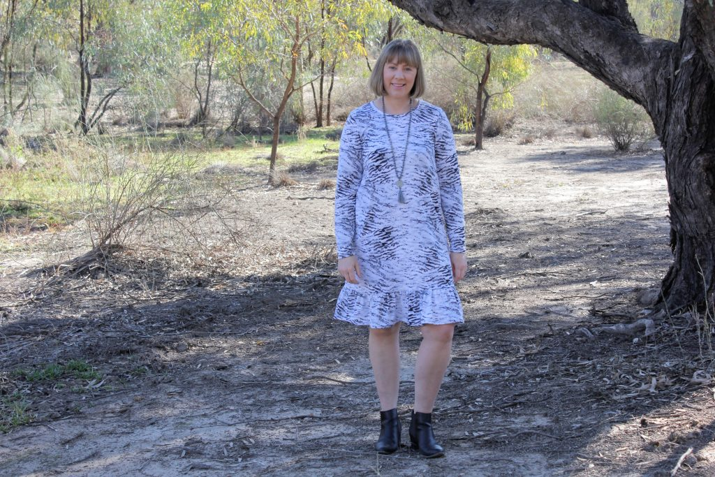 Knit Pohutukawa Dress Tutorial