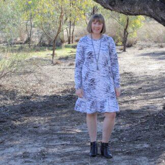 Knit Pohutukawa Dress Tutorial