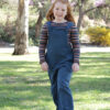 Tipa Dungarees sewing pattern by Below the Kōwhai