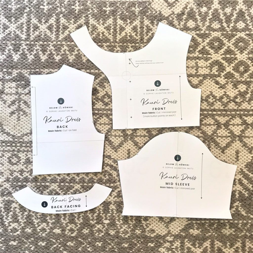Kauri Dress sewing pattern