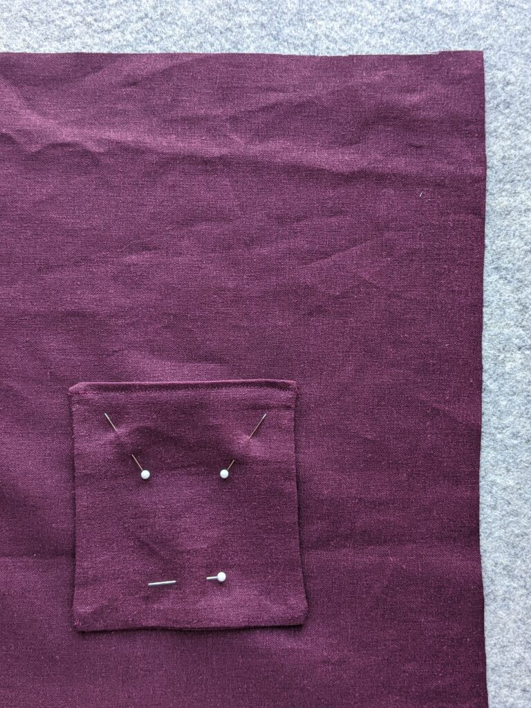 Reversible Tui Pinafore Patch Pocket