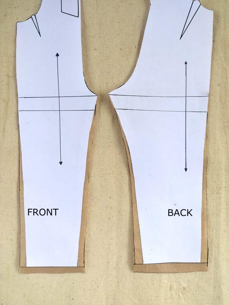 How to widen legs