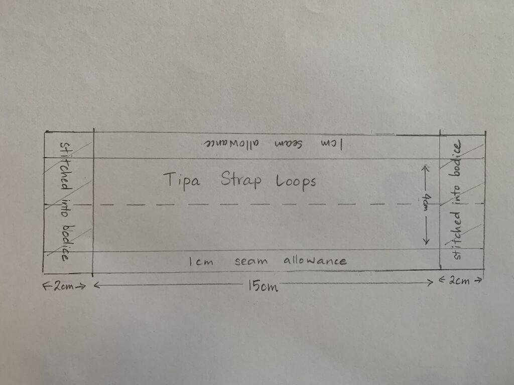 Strap Loop Hack Tipa Dungarees