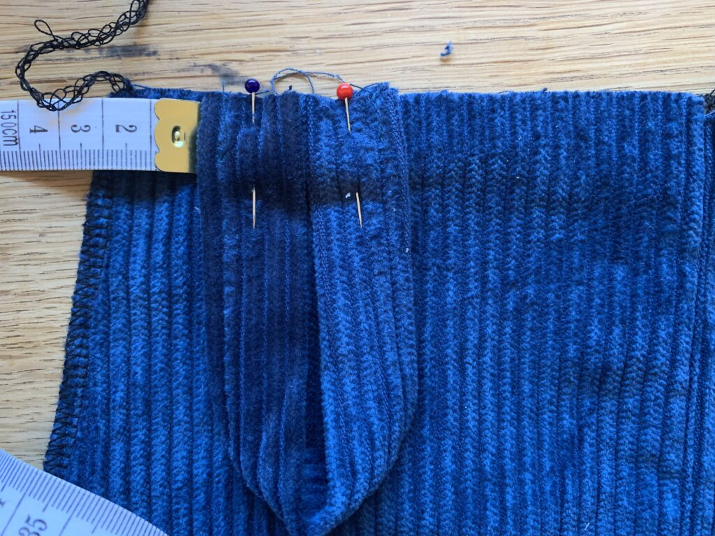 Add Loop to Tipa Dungarees bodice