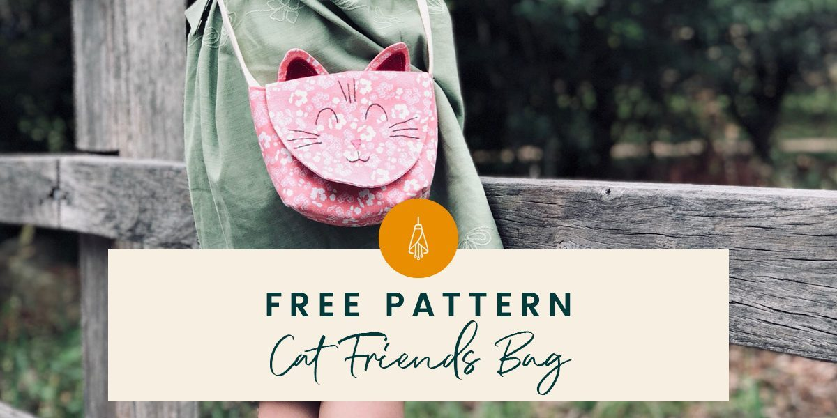 Free Sewing Pattern Cat Friends Bag