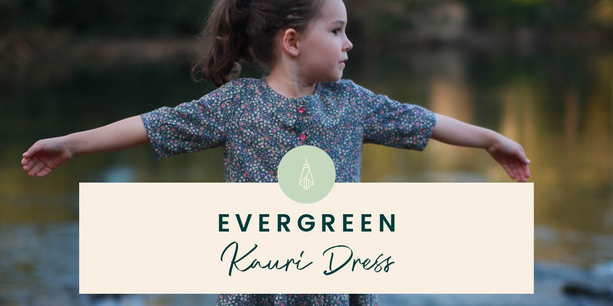 Kauri Dress sewing pattern by Below the Kowhai