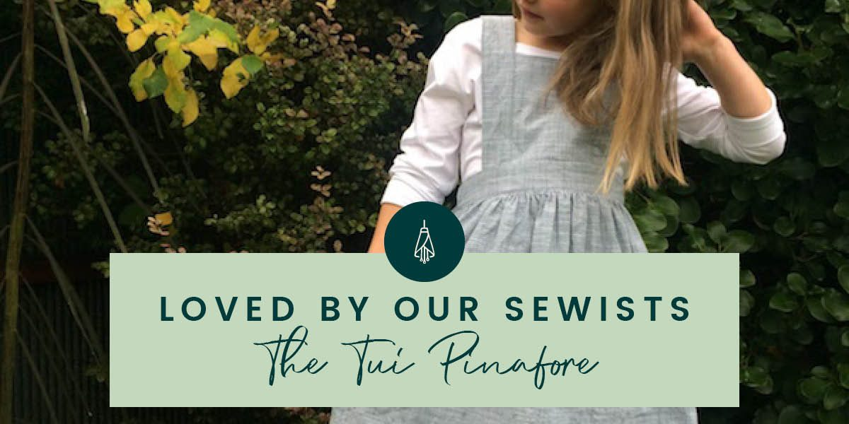 Tui Pinafore Sewing Pattern by Below the Kōwhai
